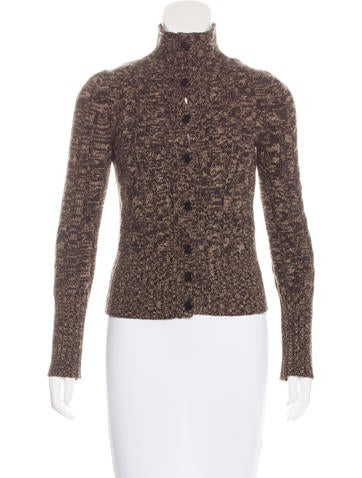 Prada Wool Knit Cardigan None