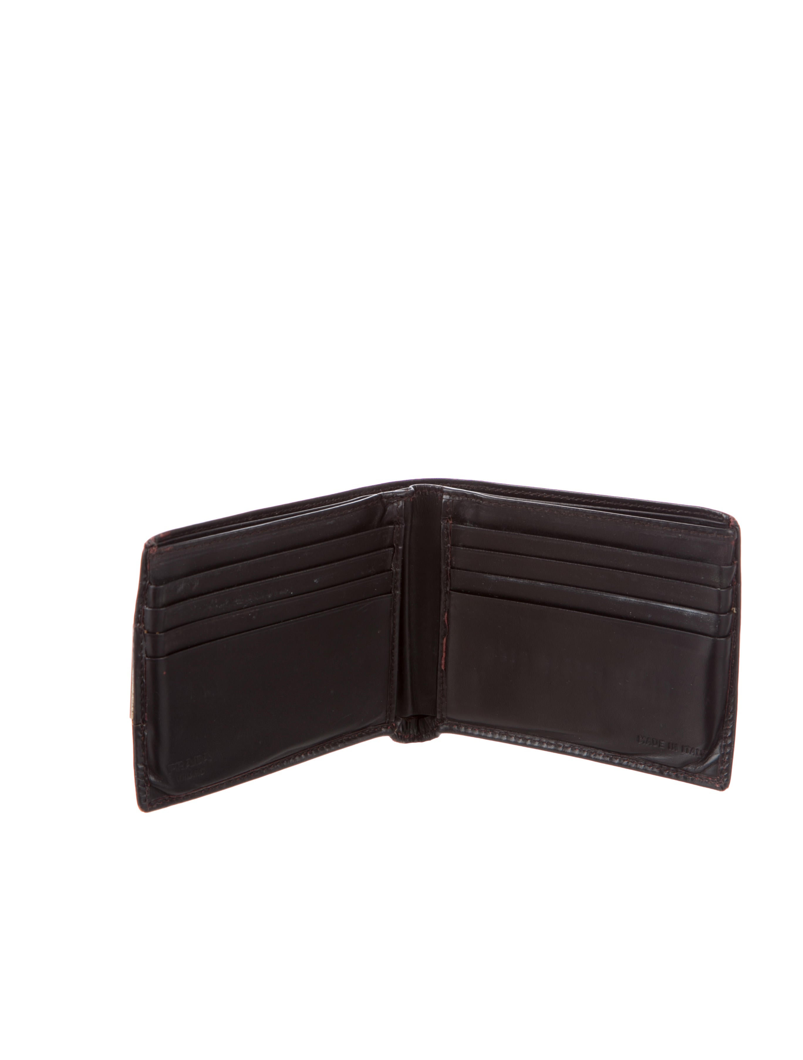 3b05c18b7d63 Prada Bifold Wallet | Stanford Center for Opportunity Policy in ...