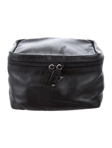 0fcc745107c8 Prada Men Toiletry Bag in Fabric - Glamood Outlet Prada Nappa Toiletry Bag  - Bags - PRA153223 | The RealReal