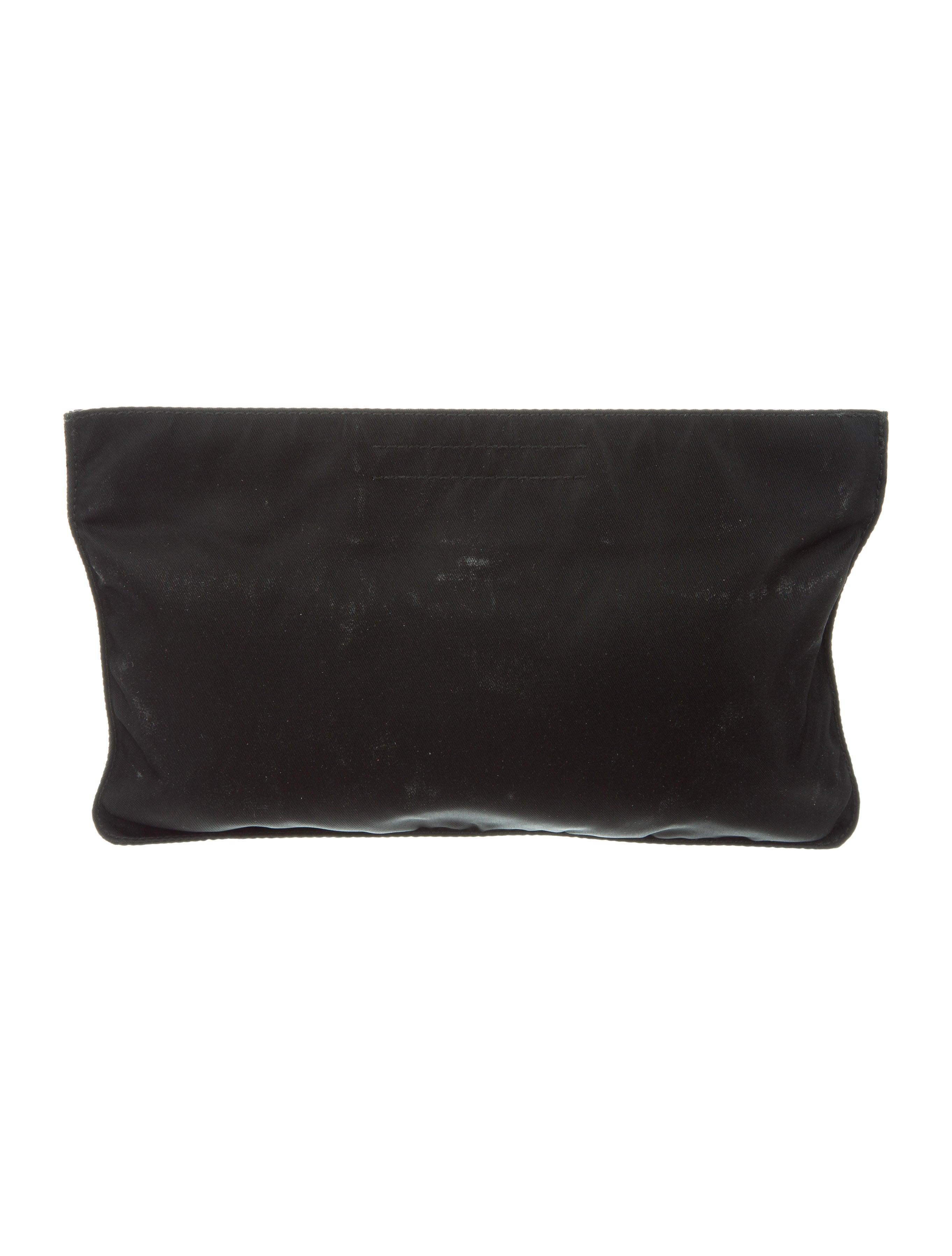 Prada Vela Clutch - Handbags - PRA153696  315144c8a2b34