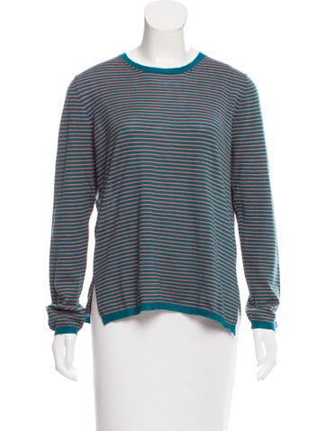 Prada Striped Knit Sweater None