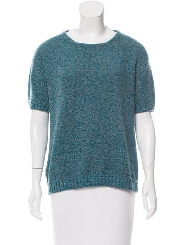 Prada 2015 Cashmere-Blend Sweater None