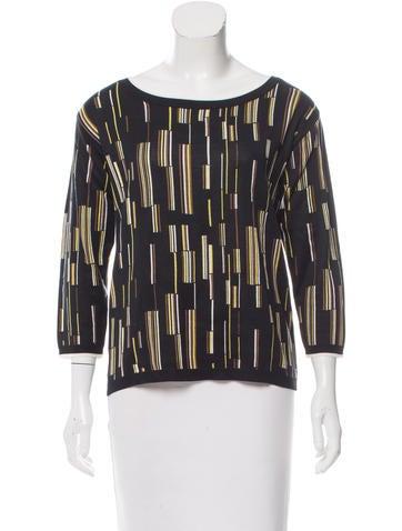 Prada 2016 Silk Sweater None