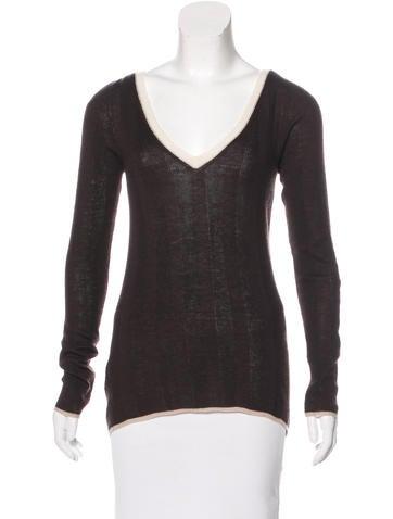 Prada Wool & Cashmere-Blend Sweater None