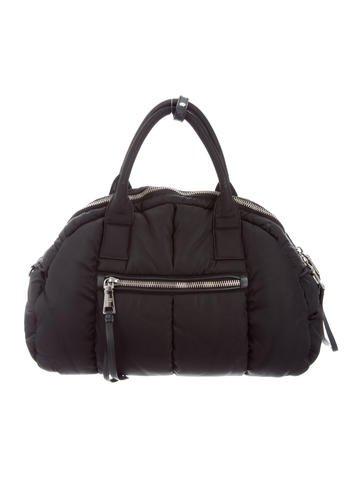 Prada tessuto bomber bag handbags pra155447 the realreal for Bomber bag review