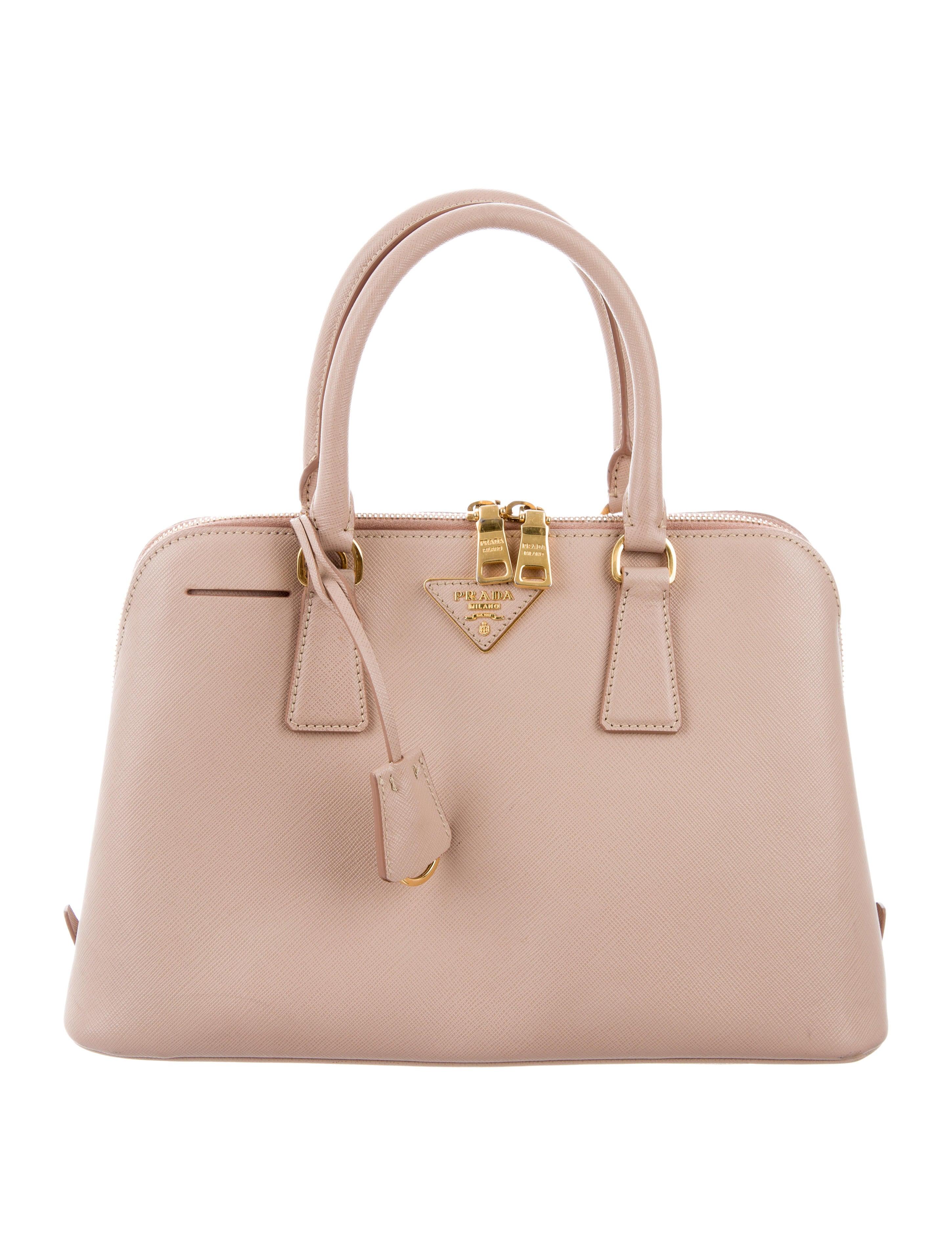 d0eaf094eb754 Prada Saffiano Lux Promenade Bag - Handbags - PRA156712