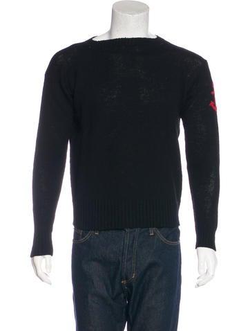 Prada 2016 Wool Anchor Sweater None