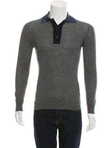 Prada Wool Colorblock Top None