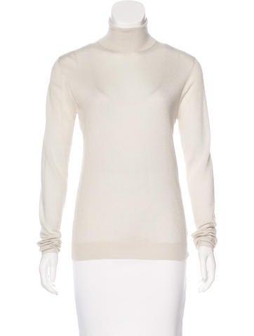 Prada Cashmere & Silk Turtleneck Sweater w/ Tags None