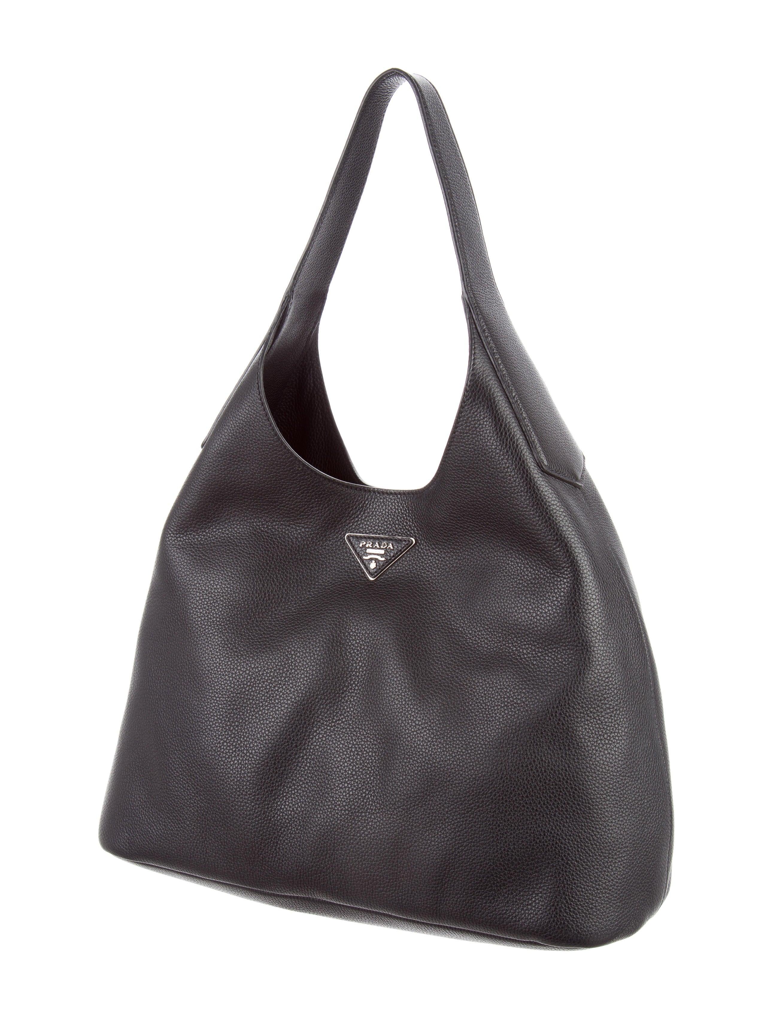 d05181233494 Prada Vitello Daino Hobo - Handbags - PRA159608