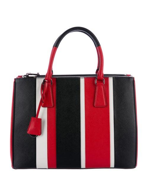 c090991e57d5fe Prada 2015 Saffiano Baiadera Striped Galleria - Handbags - PRA159744 ...