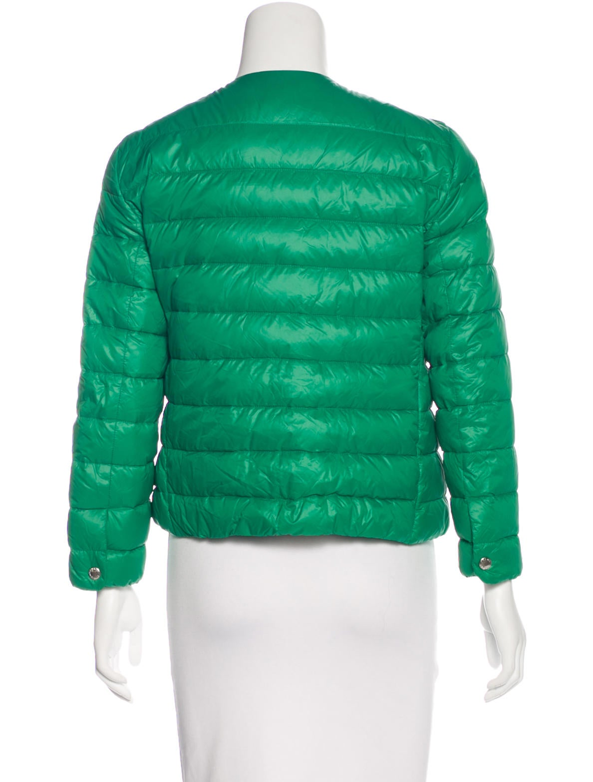 Prada Down Puffer Coat Clothing Pra159917 The Realreal