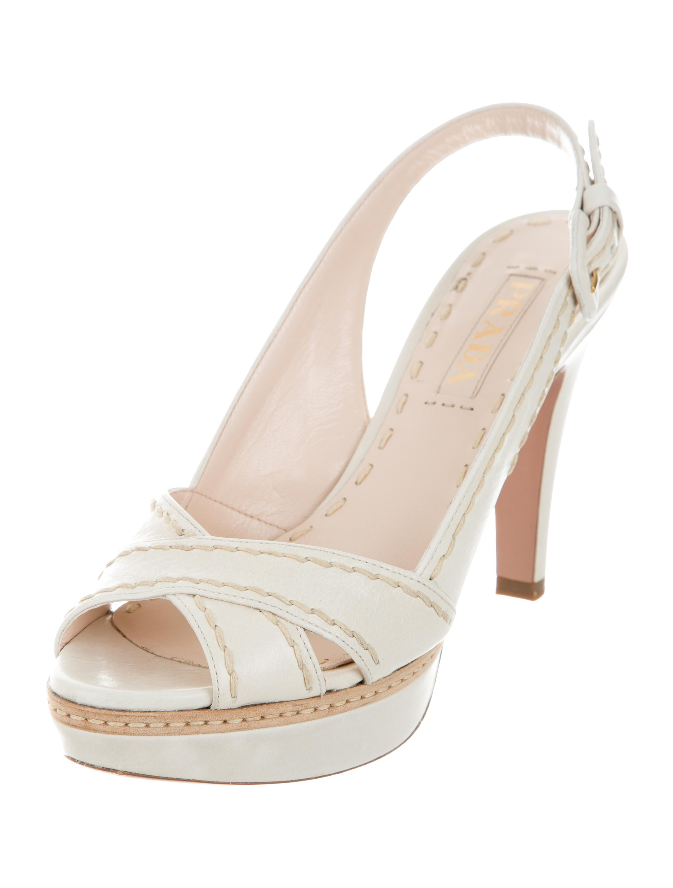 prada platform peep toe pumps shoes pra159929 the