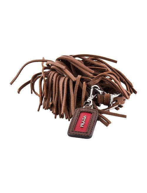 c984a0aeb45a6 Prada Leather Fringe Dog Collar - Decor & Accessories - PRA160281 ...