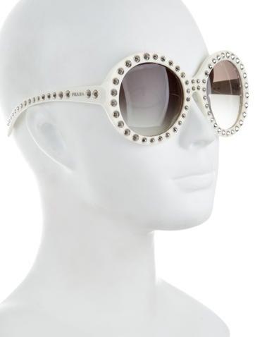 831cd76a6d2 Prada Studded Sunglasses