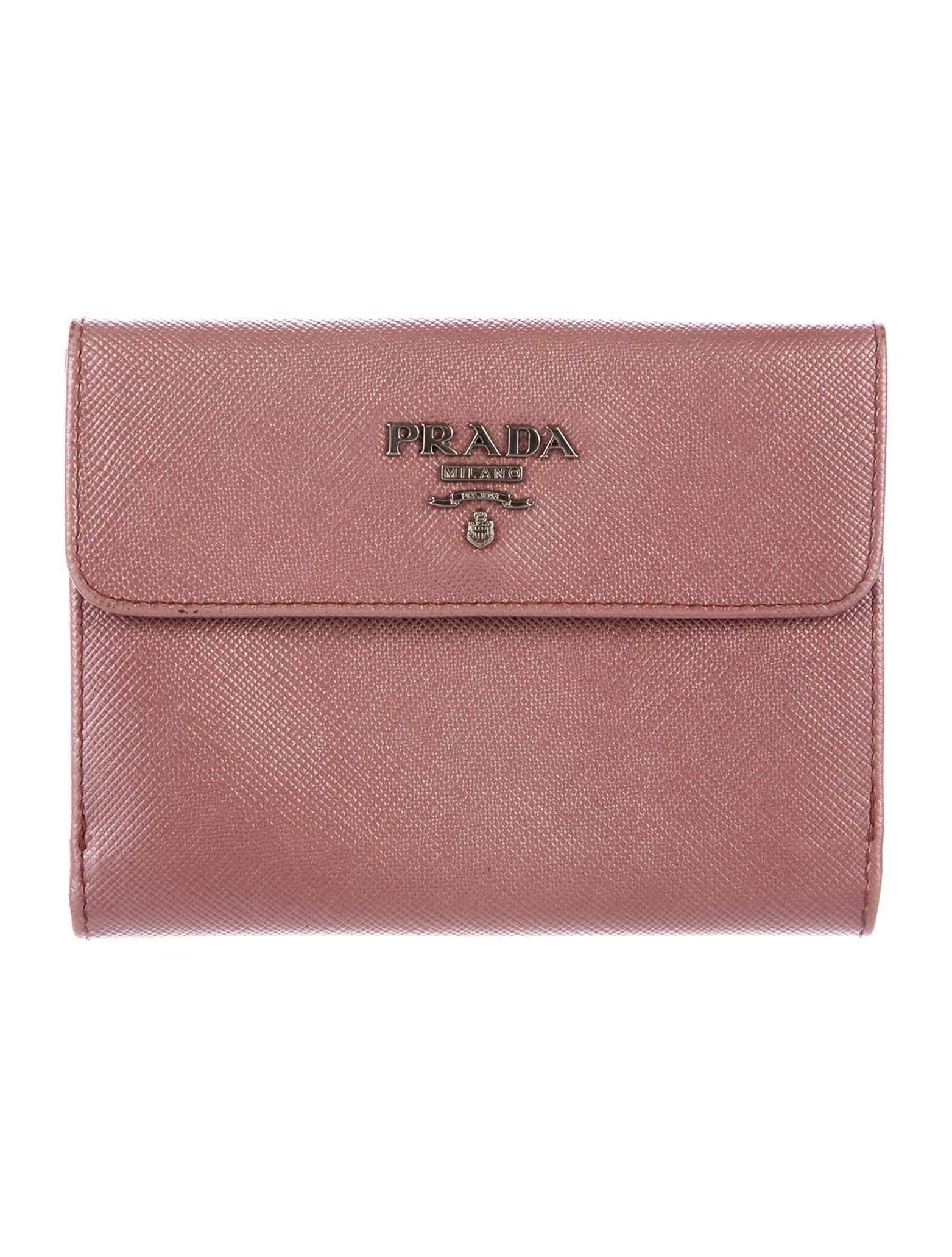 95c1baf414f9ba Prada French Wallet Review. Prada Saffiano French Purse Wallet - Accessories  ...