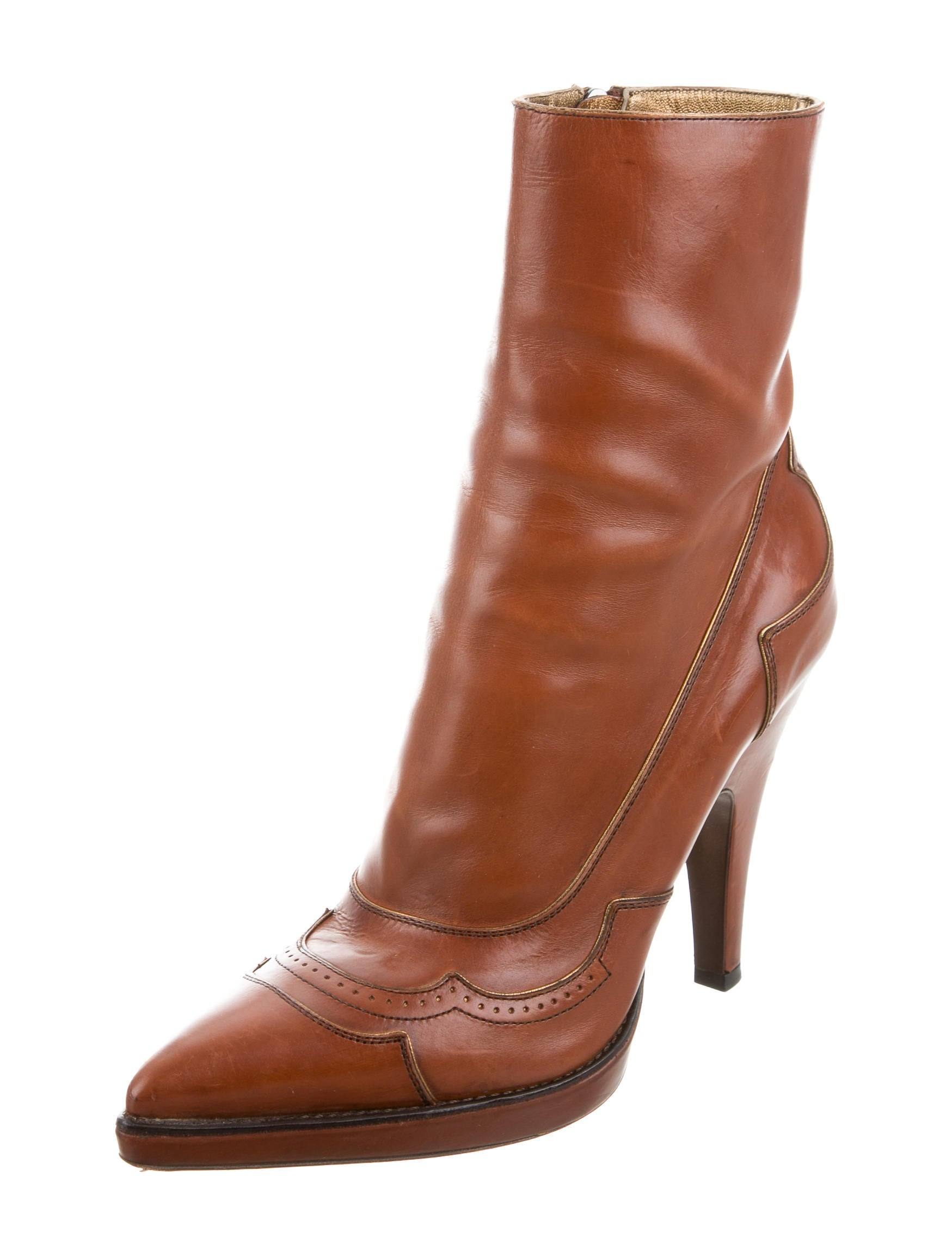 Lastest Solid Pointed Toe Side Zipper Ankle Boots - NOVASHE.com
