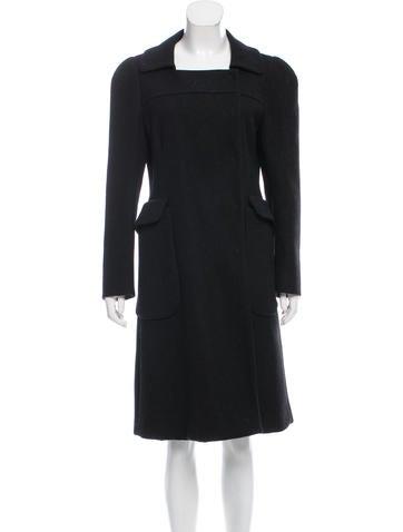 Prada Long Wool Coat None