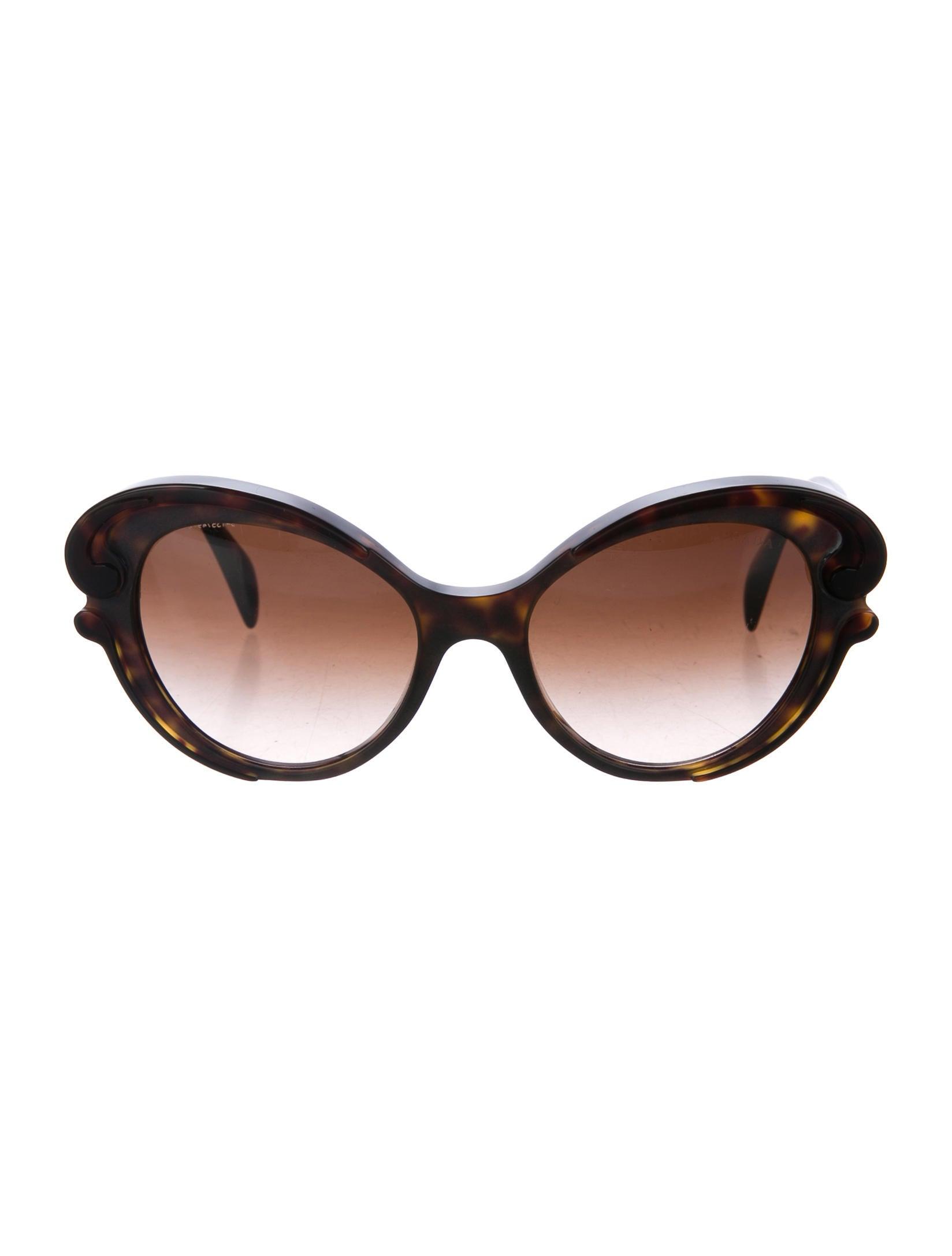 b4958165b4 Prada Baroque Round Sunglasses - Accessories - PRA161866