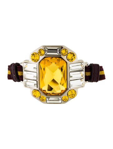 Prada Elastic Crystal Bracelet
