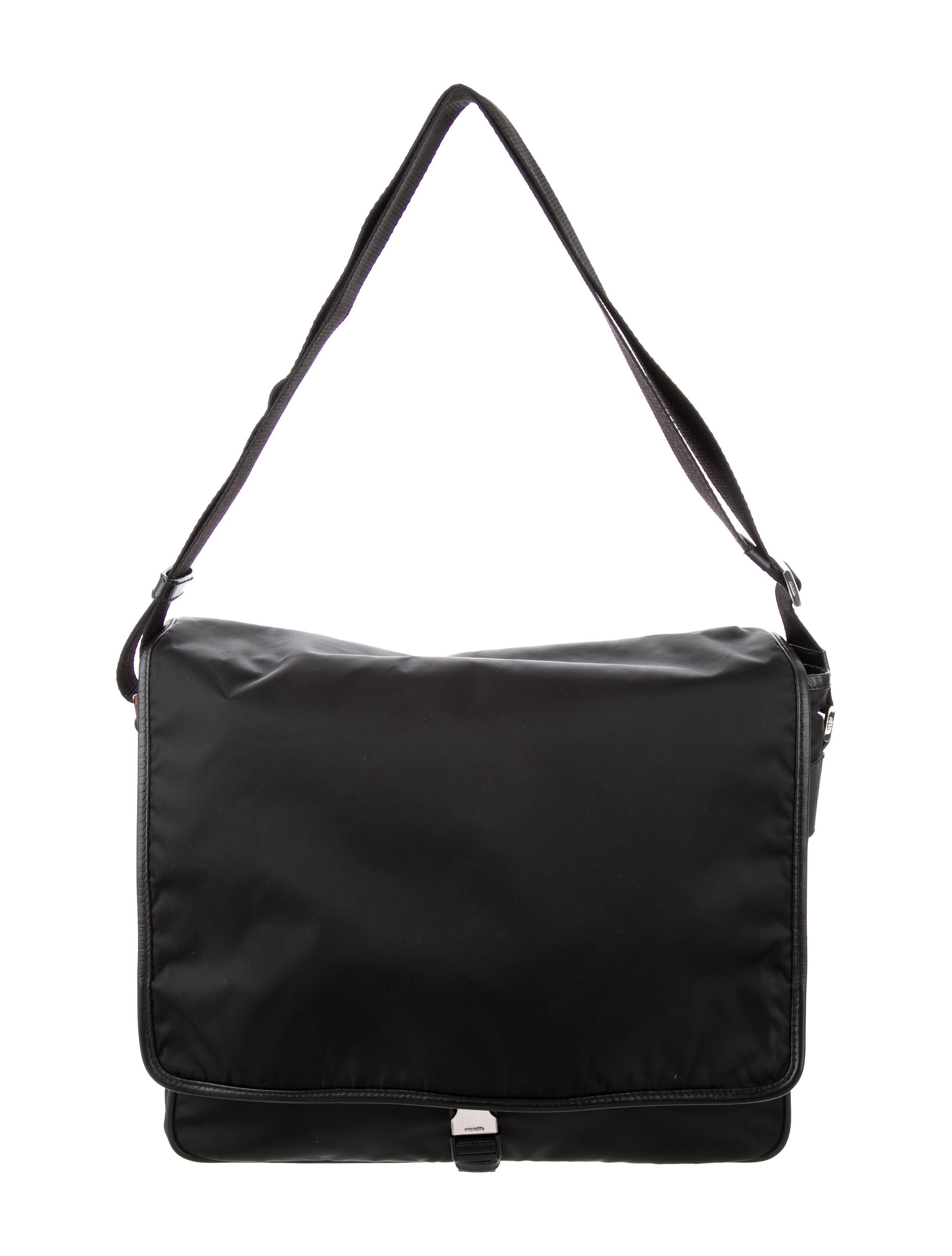 51cf8a80b4dc Prada Leather Messenger Bag | Stanford Center for Opportunity Policy ...
