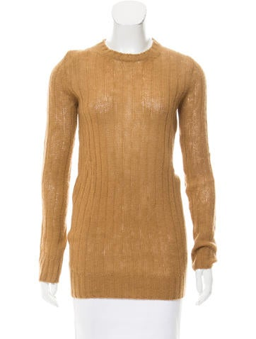 Prada Patterned Knit Sweater None