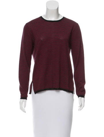 Prada Striped Lightweight Sweater None