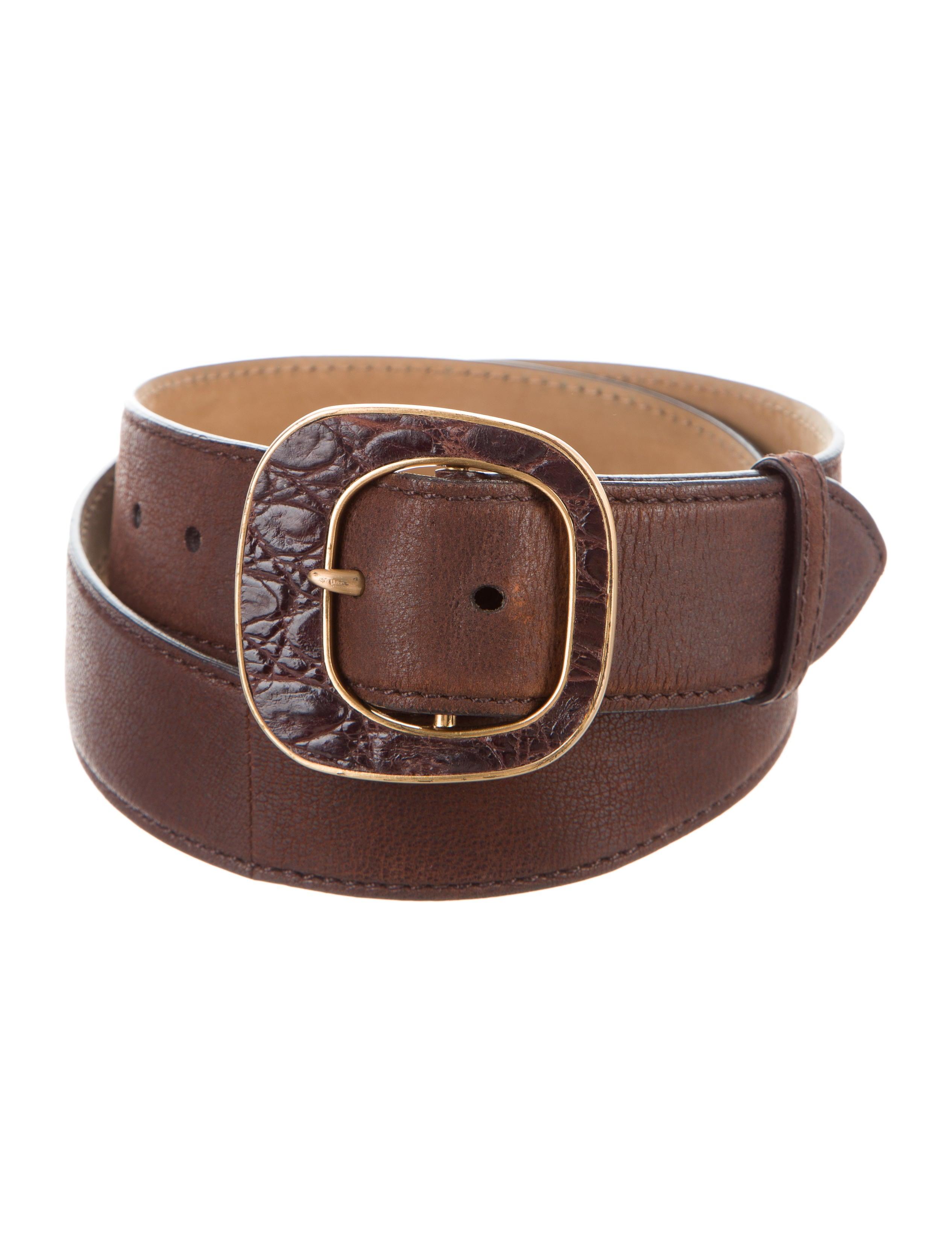 prada leather buckle belt accessories pra164128 the