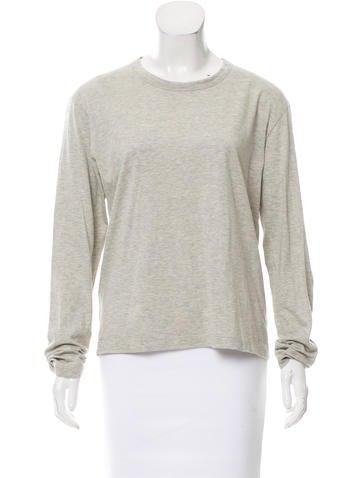 Prada Knit Long Sleeve Top None