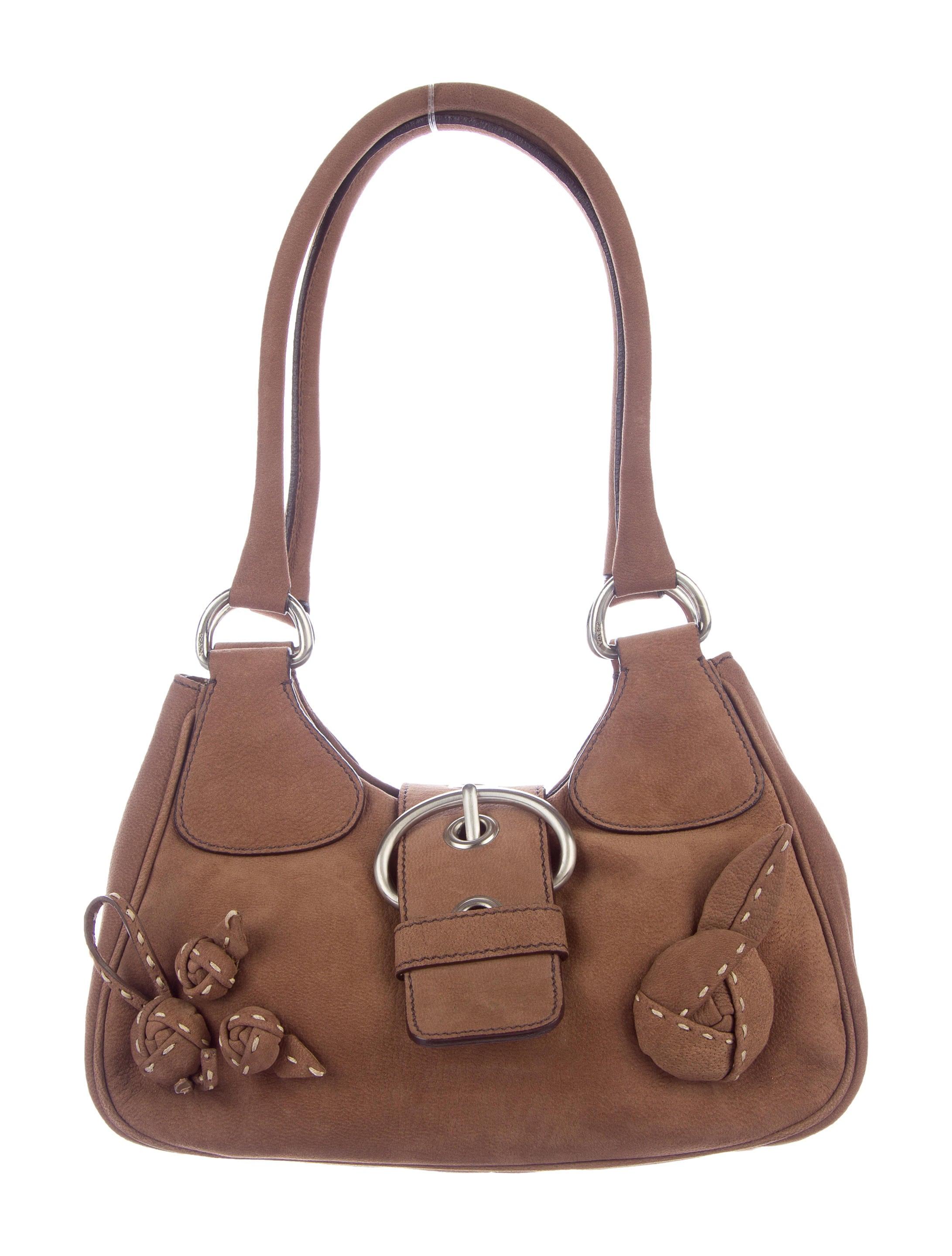 Prada Nubuck Shoulder Bag Handbags Pra164202 The