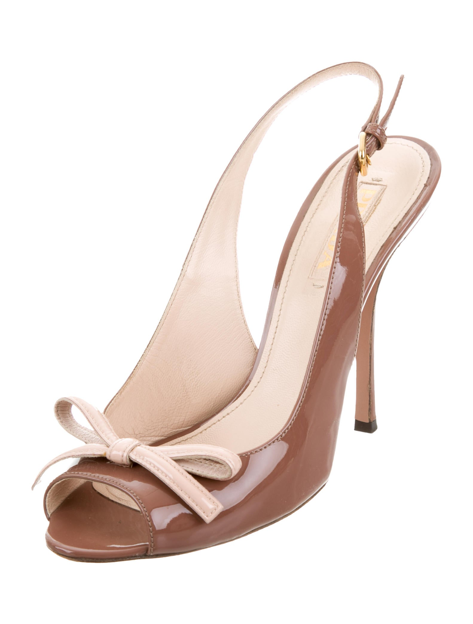 Marks On Nude Patent Leather Shoes