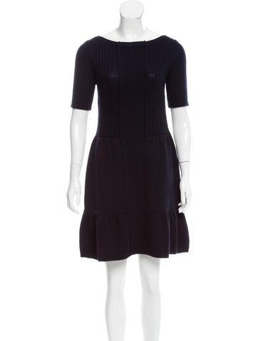 Prada Wool Sweater Dress None