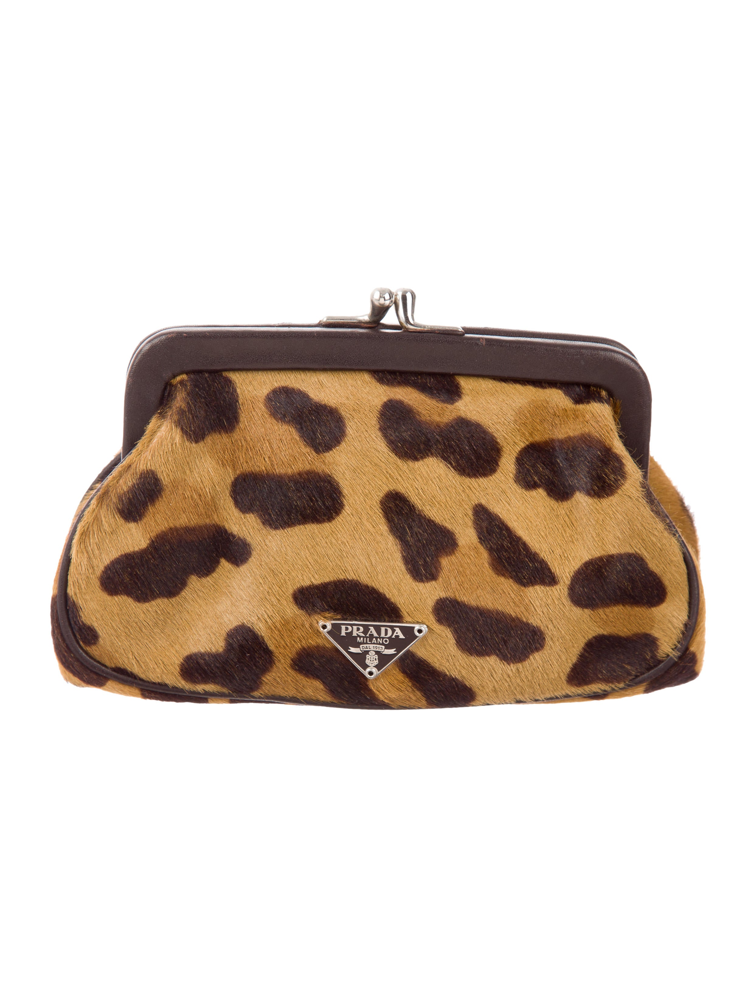 817a99dc6f47 Prada Leopard Print Coin Purse - Accessories - PRA164339 | The RealReal