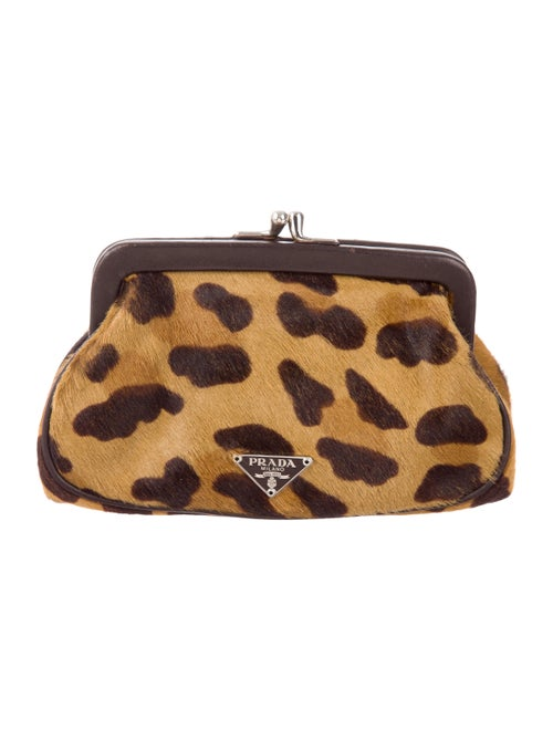 75b1791b4 Prada Leopard Print Coin Purse - Accessories - PRA164339 | The RealReal