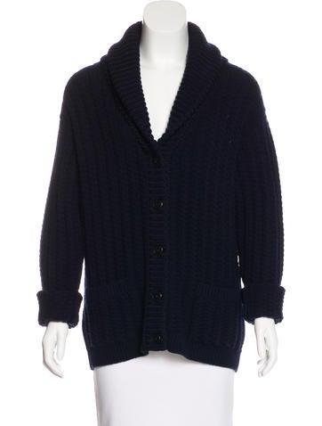Prada Wool & Cashmere Knit Cardigan None