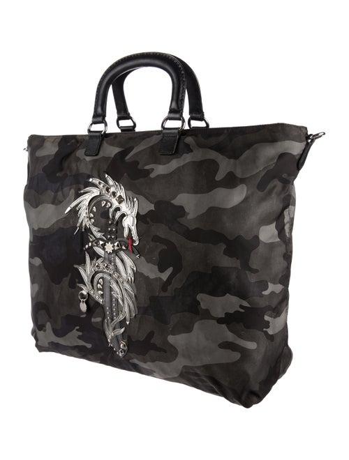 2cdfedabea21 Prada Dragon Appliqué Camouflage Tote - Bags - PRA165108 | The RealReal