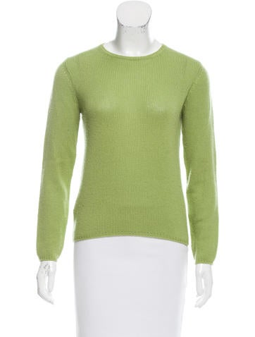 Prada Rib Knit Cashmere Sweater None