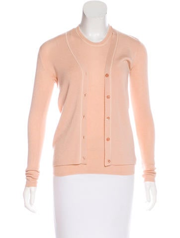 Prada Cashmere Cardigan Set None