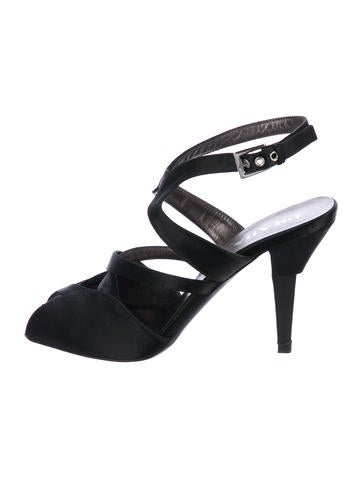 cheap fashion Style Prada Satin Multistrap Sandals discount purchase websites for sale discount codes shopping online 9KA50d09k