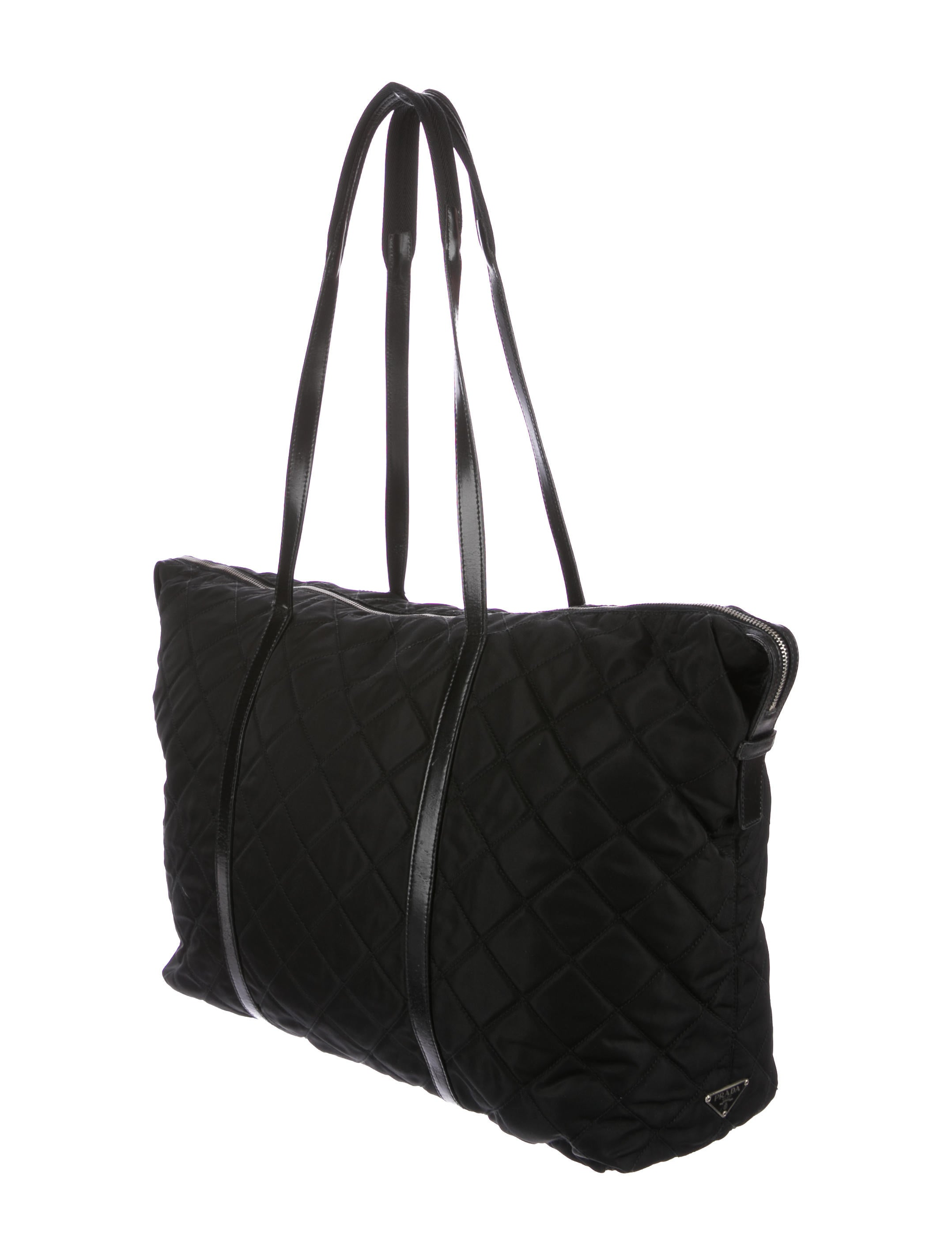 b1976cb21508 Prada Quilted Tessuto Tote | Stanford Center for Opportunity Policy ...