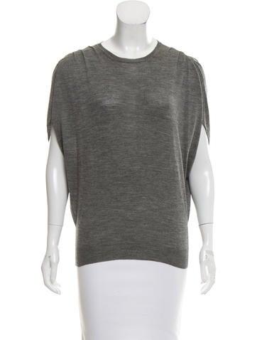 Prada Knit Short Sleeve Top None