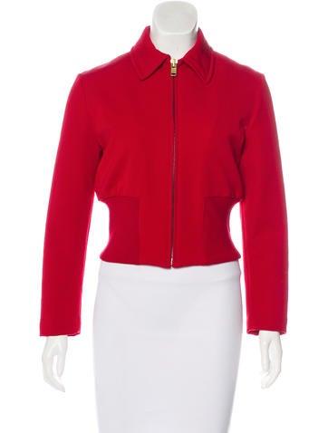 Prada Structured Zip-Up Jacket None