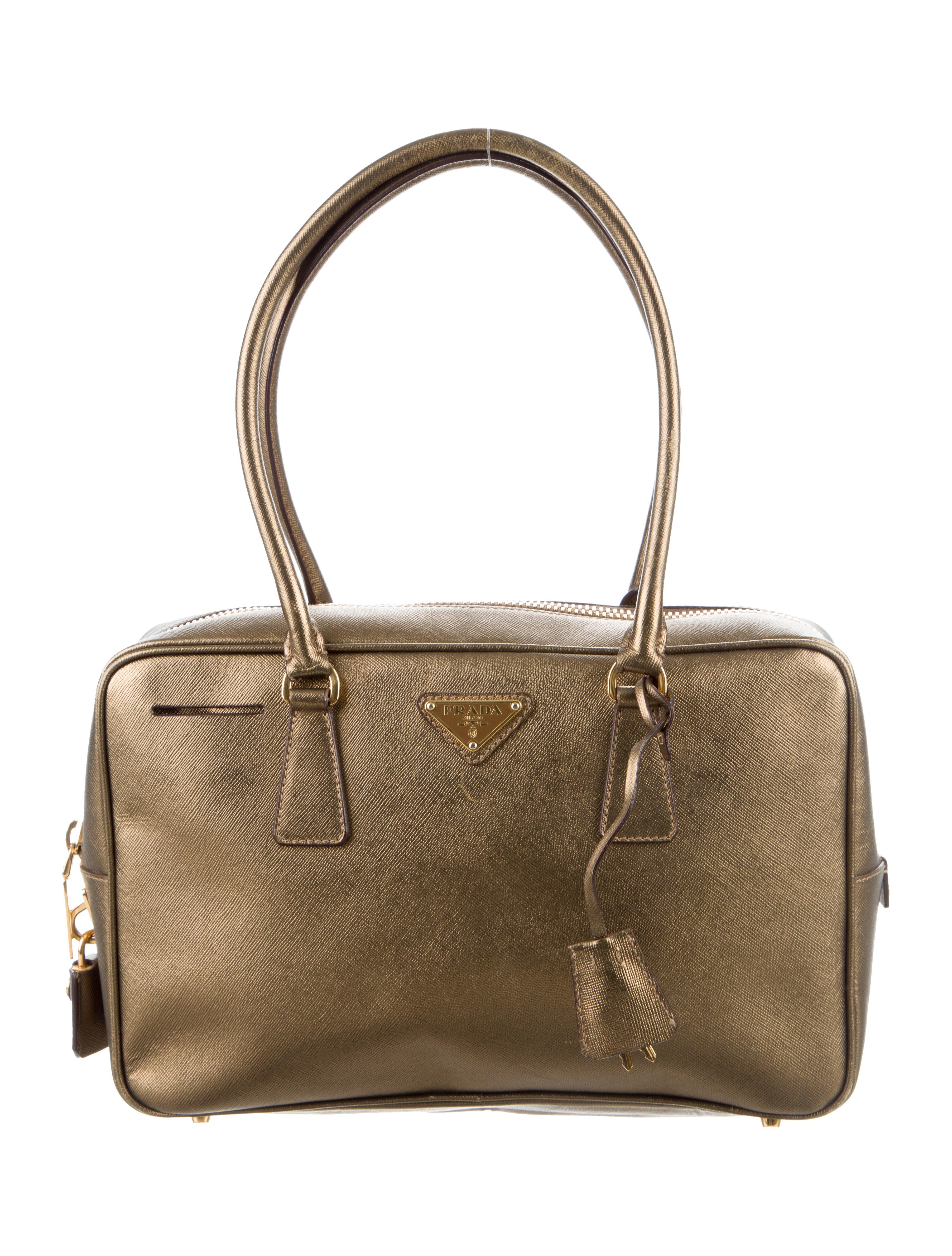 3e3ed53dda Prada Saffiano Suitcase | IUCN Water