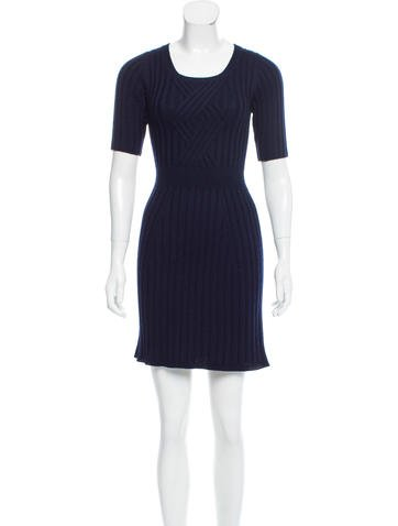 Prada Knit Mini Dress None