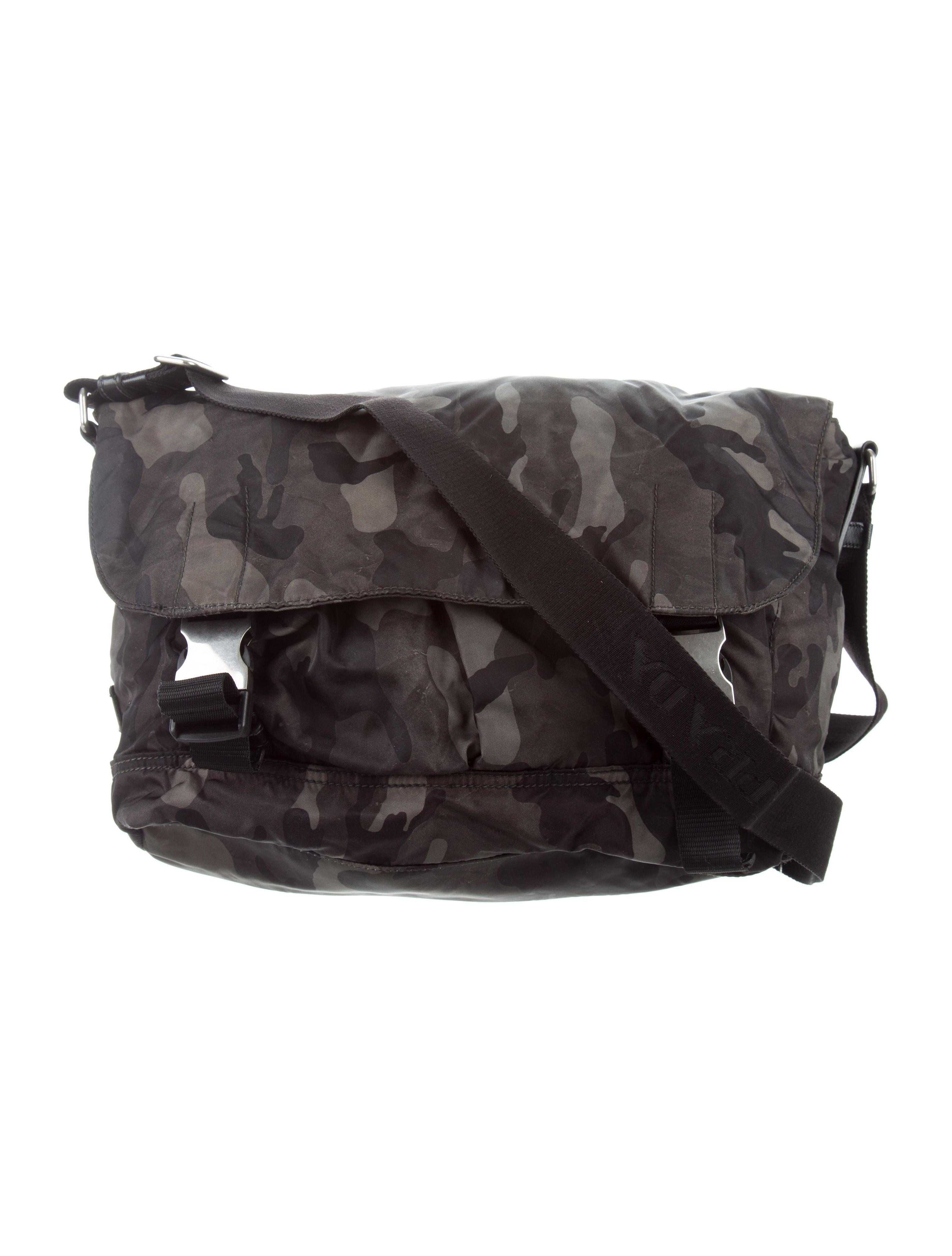d6cc34f0ab Prada Camouflage Messenger Bag - Bags - PRA168751