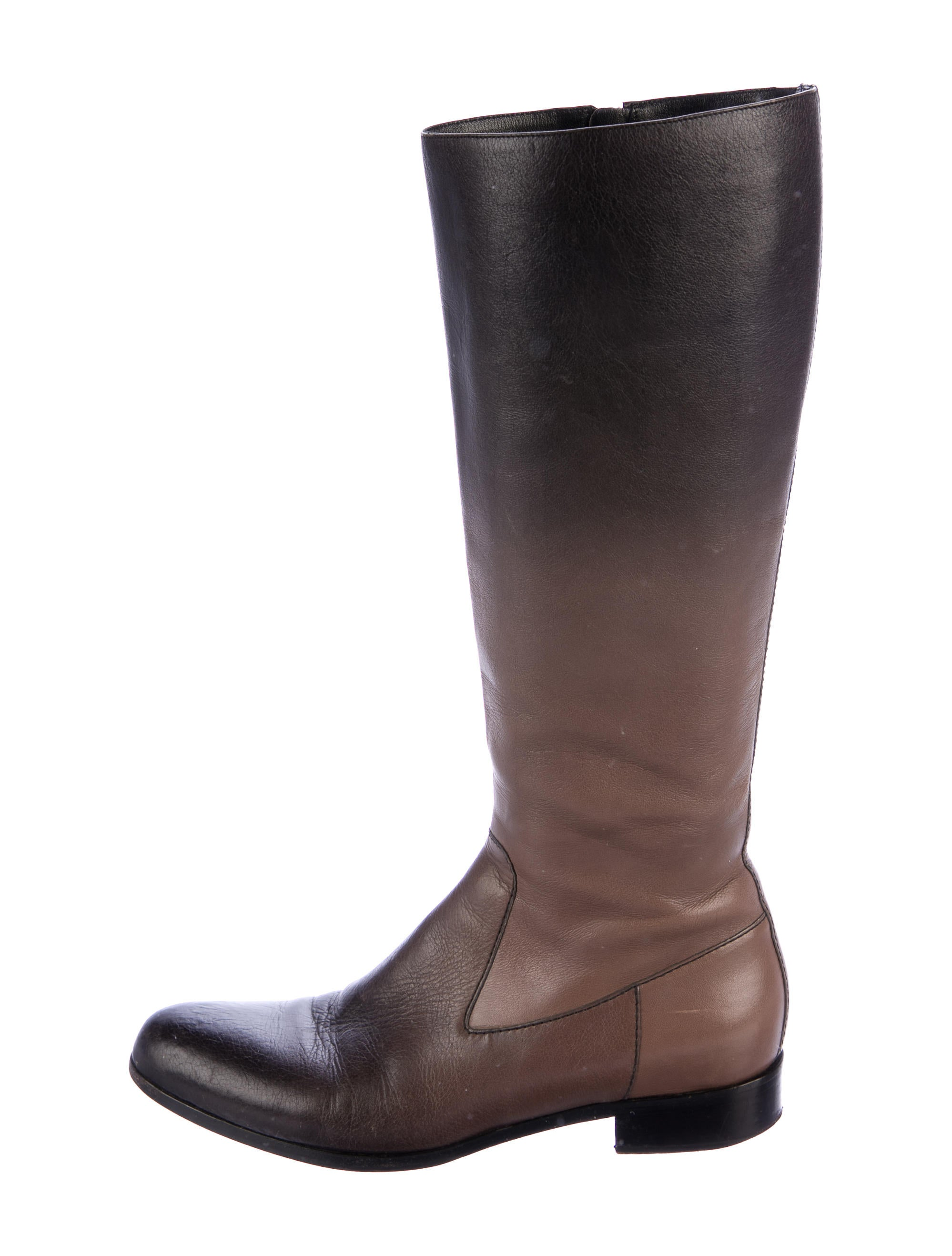 Prada Ombré Knee-High Boots sale 2014 with credit card free shipping clearance recommend free shipping deals outlet buy COJqutA