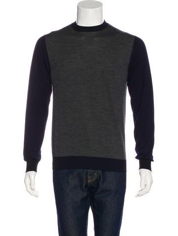 Prada 2016 Colorblock Sweater None