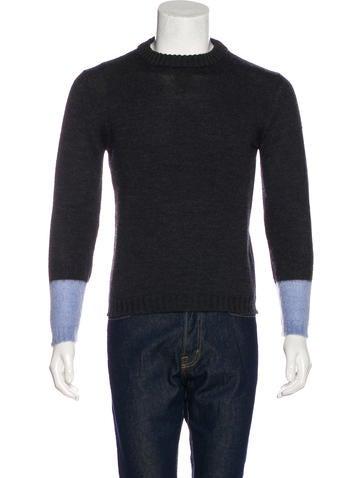 Prada Colorblock Knit Sweater None