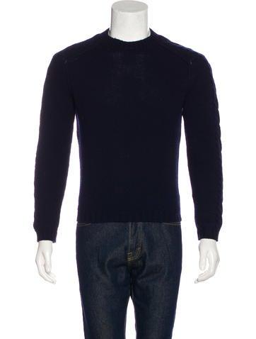 Prada Cable Knit Sweater None