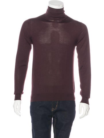 Prada Mock Neck Sweater None